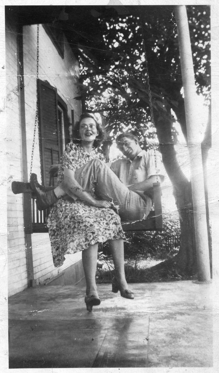Gilbert and Judy Gillespie - 1942