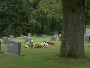 Gilbert McClung Gillespie's (1940-2012) grave site at Stonewall Jackson Memorial Cemetery, Lexington, Virginia