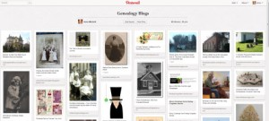 Genealogy Blogs Board from Finding Forgotten Stories