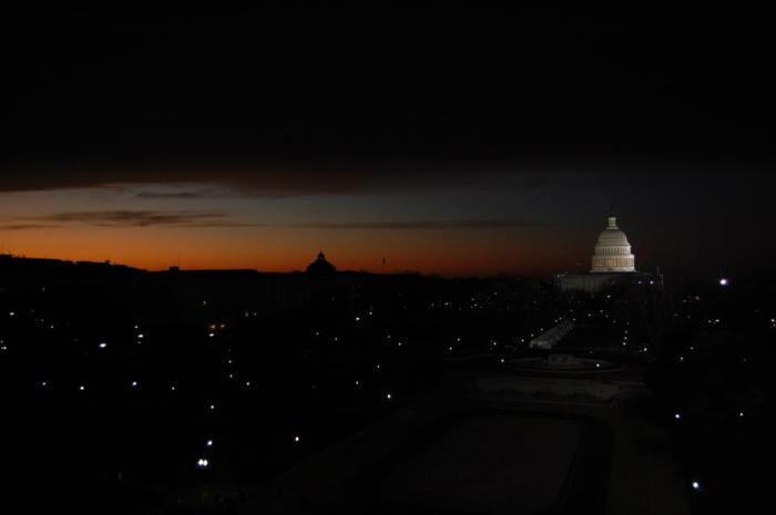 Harrison Moore's photo taken the morning of January 21, 2013