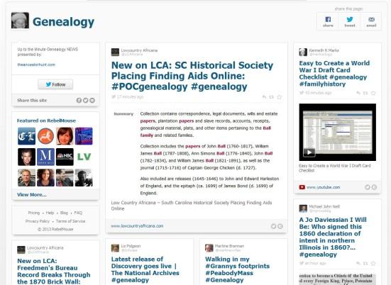 Rebel Mouse #genealogy tag