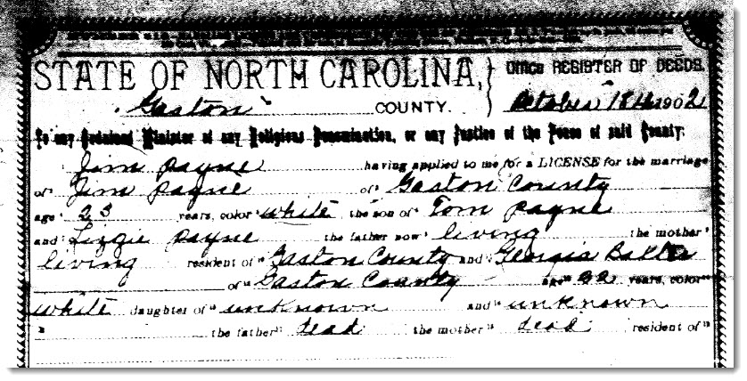 Come out, come out wherever you are! The hunt for Ancestor #4: Georgia Eva Baxter's parents.  52 Ancestors. (2/5)